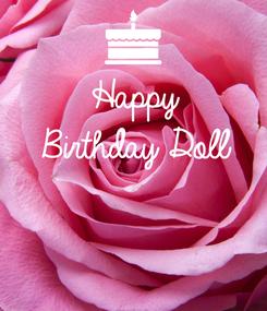 Poster: Happy Birthday Doll