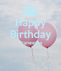 Poster: Happy Birthday Praneetha