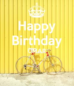Poster: Happy Birthday UMAR