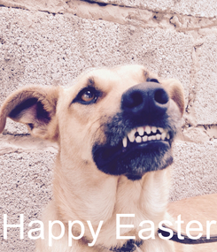 Poster:     Happy Easter