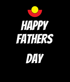 Poster: HAPPY FATHERS  DAY