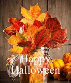 Poster:    Happy Halloween