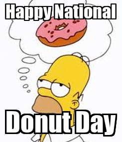 Poster: Happy National Donut Day