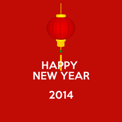 Poster: HAPPY  NEW YEAR 2014