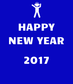 Poster: HAPPY NEW YEAR  2017