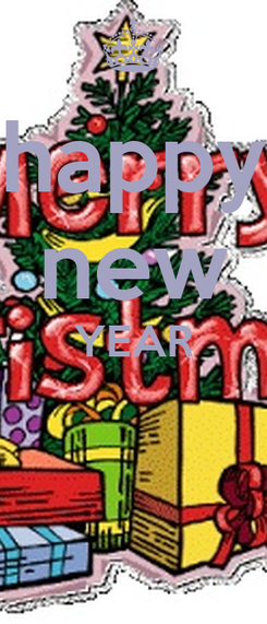 Poster: happy new YEAR