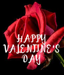 Poster: HAPPY VALENTINE'S DAY
