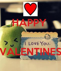 Poster: HAPPY    VALENTINES