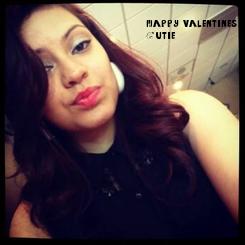 Poster: Happy valentines  Cutie