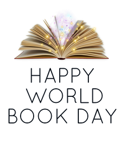 Poster: HAPPY  WORLD BOOK DAY