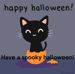 Poster:     Have a spooky halloween!