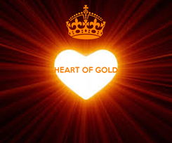 Poster:  HEART OF GOLD