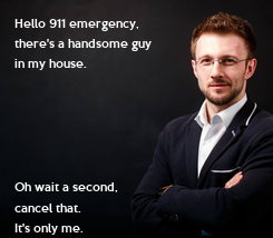 Poster: Hello 911 emergency, 