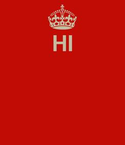 Poster: HI