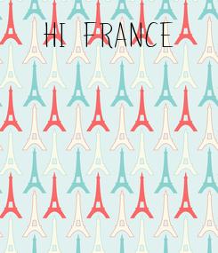 Poster:   hi france