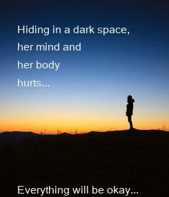 Poster: Hiding in a dark space,