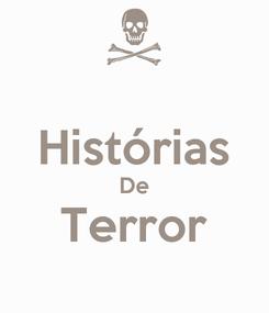 Poster:  Histórias De Terror