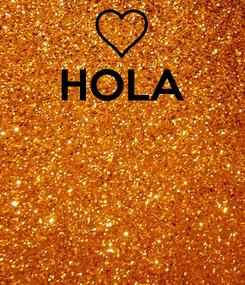 Poster: HOLA