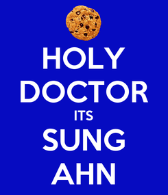 Poster: HOLY DOCTOR ITS SUNG AHN