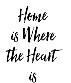 Poster: Home is Where the Heart is