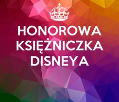 Poster: HONOROWA KSIĘŻNICZKA DISNEYA