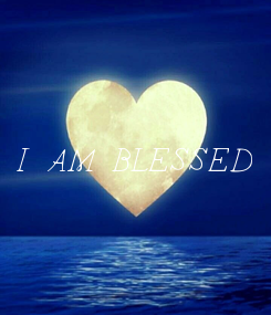 Poster: I AM BLESSED