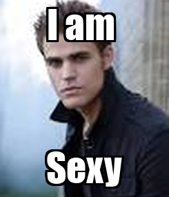Poster: I am  Sexy