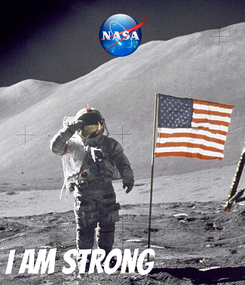 Poster:     I AM STRONG