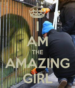 Poster: I AM THE AMAZING GIRL
