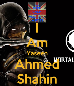 Poster: I Am Yaseen Ahmed Shahin