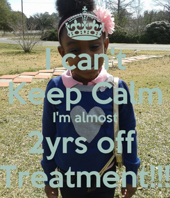 Poster: I can't Keep Calm I'm almost 2yrs off  Treatment!!!