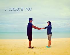 Poster: I CHOOSE YOU