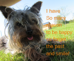Poster: I have 