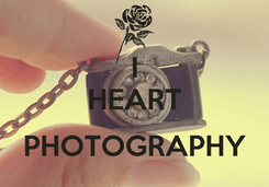 Poster: I HEART  PHOTOGRAPHY