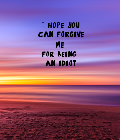 Poster: ,    I hope you 