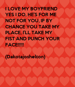 Poster: I LOVE MY BOYFRIEND 
