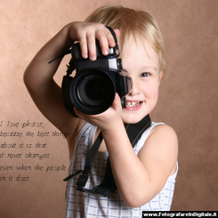 Poster: I love photos, because the best thing about it is that it never changes even when the people in it does.