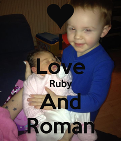 Poster: I Love Ruby And Roman