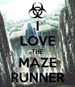 Poster: I LOVE THE MAZE RUNNER
