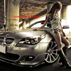Poster: I love this 2 things