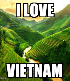 Poster: I LOVE VIETNAM