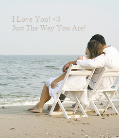Poster: I Love You! <3