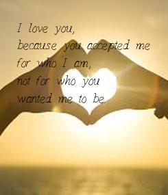 Poster: I love you,