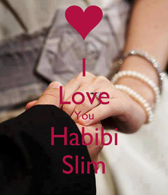 Poster: I Love You Habibi Slim