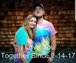 Poster:    I Love You Together Since 2-14-17
