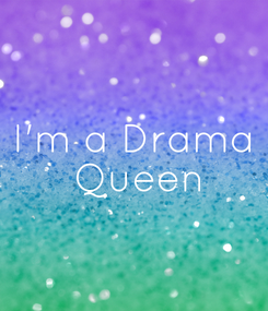 Poster: I'm a Drama  Queen
