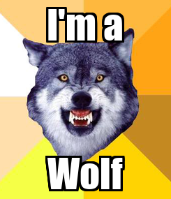 Poster: I'm a Wolf
