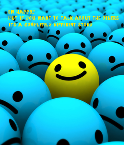 Poster: I'm happy!! But if you want to talk about the others its a completely different story