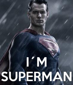 Poster:    I´M SUPERMAN