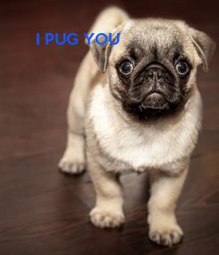 Poster: I PUG YOU
